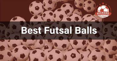 Selectiron of the best balls for futsal.